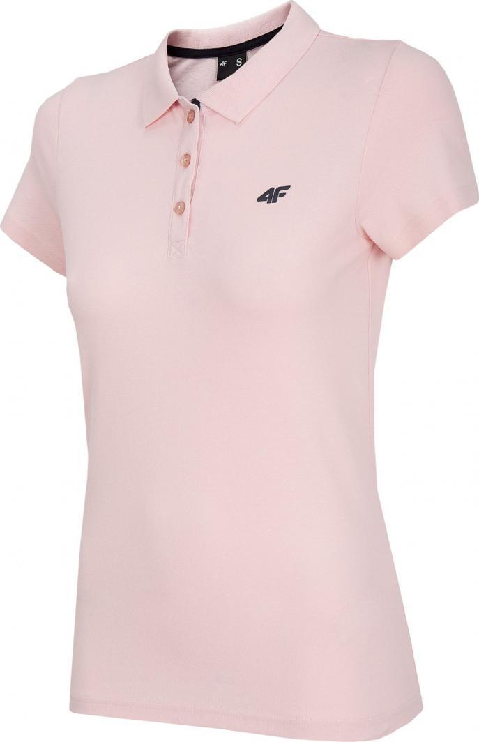 4f Koszulka damska H4L20-TSD007 różowa r. M 1