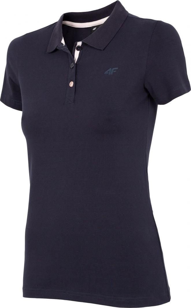 4f t-shirt damski H4Z20-TSD008 GRANAT r.M 1