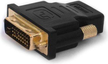 Adapter AV Elmak HDMI - DVI-D czarny (CL-21) 1