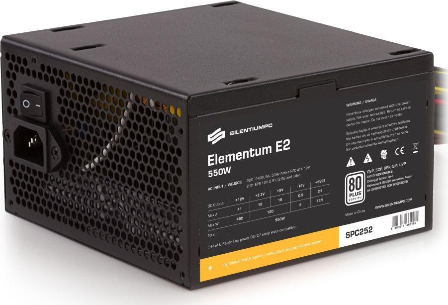 Zasilacz SilentiumPC Elementum E2 550W (SPC252) 1