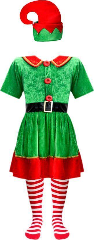 Gama Ewa Kraszek Kostium Elfik Zielony sukienka uniwersalny 1