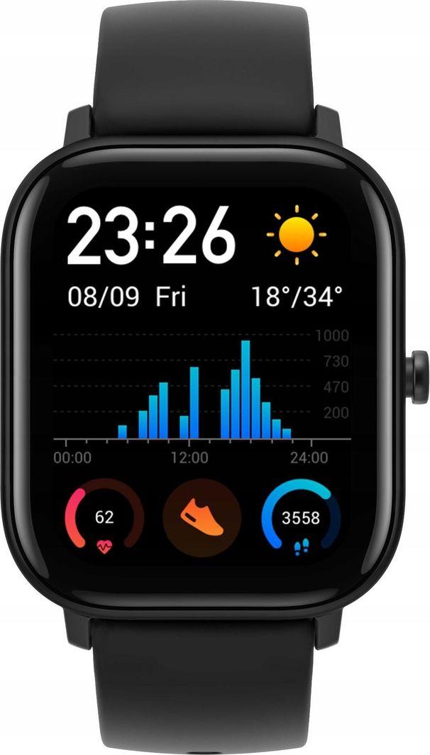 Smartwatch Xiaomi Amazfit GTS Czarny  (6970100373462) 1