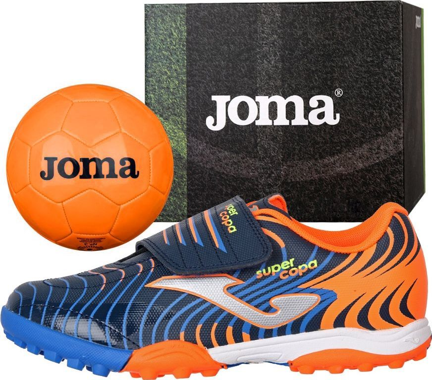 Joma sport Buty Joma Super Copa JR 2003 TF SCJS.2003.TF SCJS.2003.TF granatowy 34 ID produktu: 6438148