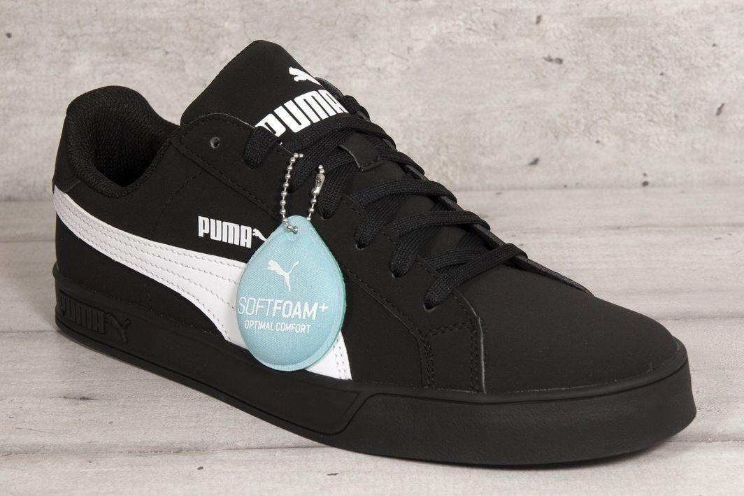Puma Buty męskie Smash Vulc czarne r. 44.5 (359622 14) ID produktu: 6441888