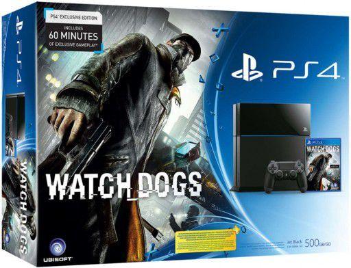 Sony PlayStation4 500GB + Watch Dogs PL 1