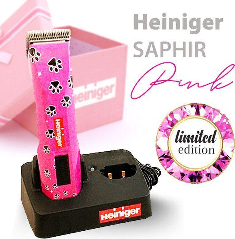 Heiniger Heiniger Saphir - maszynka bezprzewodowa, edycja limitowana - różowa w łapki uniwersalny 1