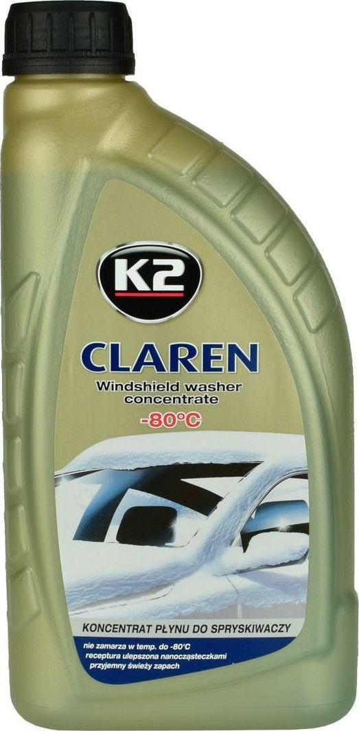 K2 K2 Claren zimowy koncentrat do spryskiwaczy -80°C 1L uniwersalny 1