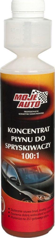 Moje Auto Moje Auto letni koncentrat do spryskiwaczy 100:1 jabłkowy 250ml uniwersalny 1