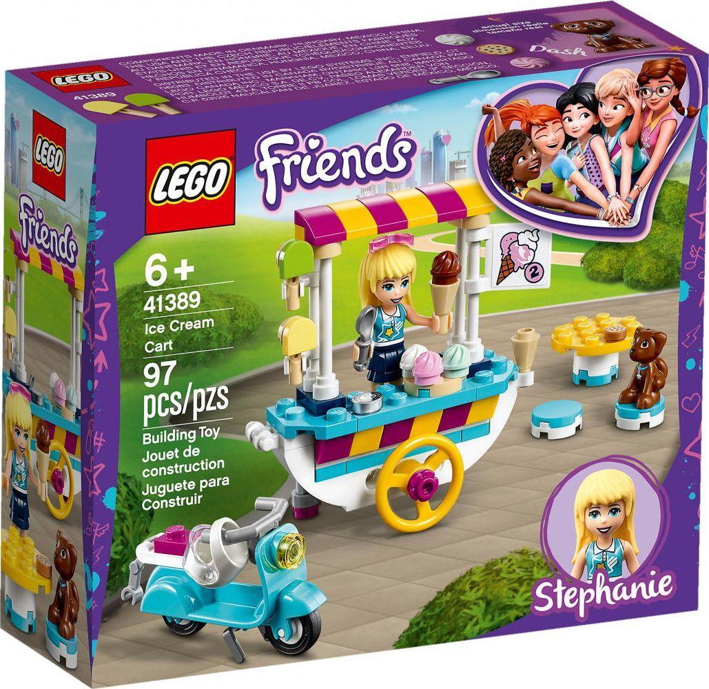LEGO FRIENDS Wózek z lodami (41389) 1