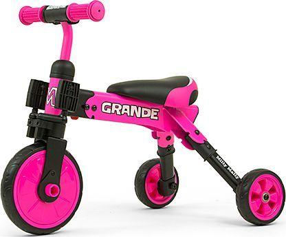 Milly Mally Rowerek Trójkołowy 2w1 Grande Pink 1