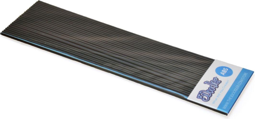 3Doodler Filament ABS - Wkłady zapasowe do długopisu 3Doodler 25 sztuk, czarne (AB01-BBB) 1