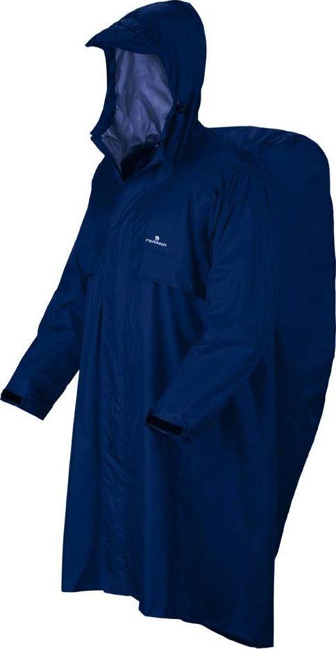 Ferrino, Płaszcz przeciwdeszczowy Trekker, niebieski, rozmiar SM