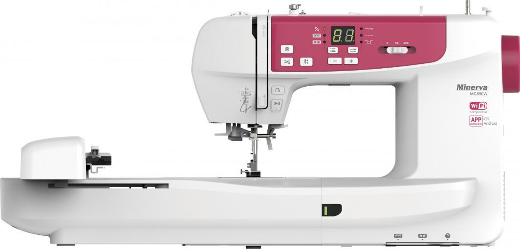 Maszyna do szycia Minerva MC550W 1