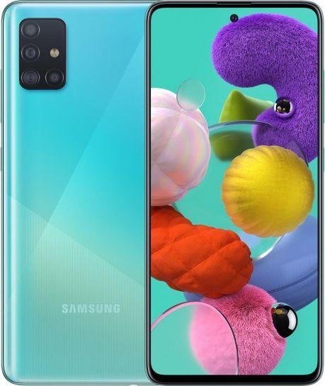 Smartfon Samsung Galaxy A51 128GB Dual SIM Niebieski (SM-A515FZB) 1