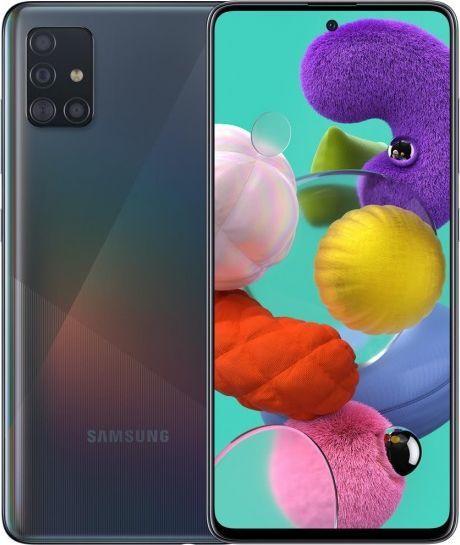 Smartfon Samsung Galaxy A51 128GB Dual SIM Czarny (SM-A515FZK) 1