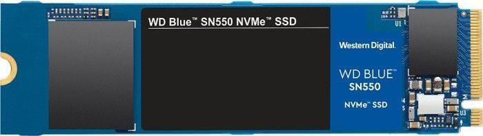 Dysk SSD Western Digital Blue SN550 500 GB M.2 2280 PCI-E x4 Gen3 NVMe (WDS500G2B0C) 1