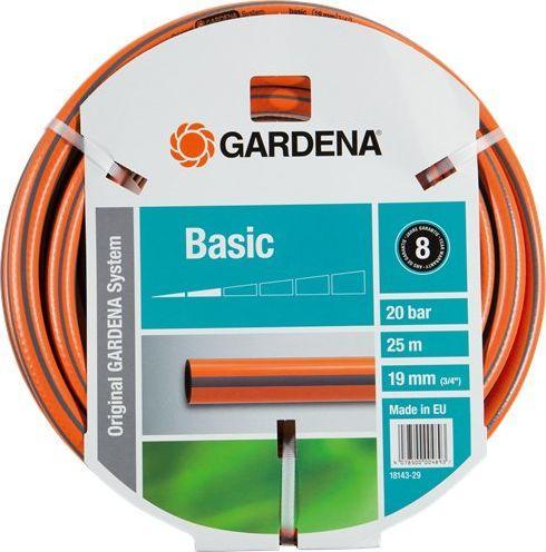 Gardena wąż ogrodowy Gardena BASIC 19mm 3/4 25m (18143-29) 1