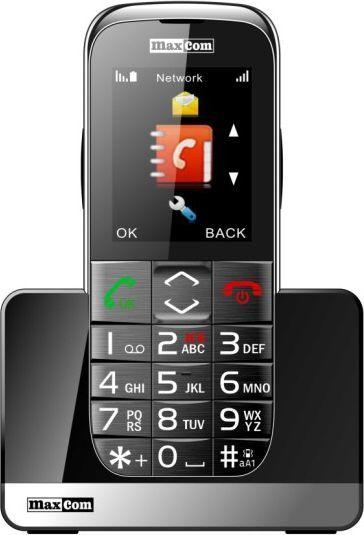Telefon komórkowy Maxcom MM720BB Czarny 1