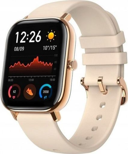Smartwatch Amazfit GTS Beżowy  (A1914DESERTGOLD) 1