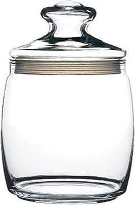 Pasabahce Słoik z pokrywką szklany 0,5 L Pojemnik na żywność 1