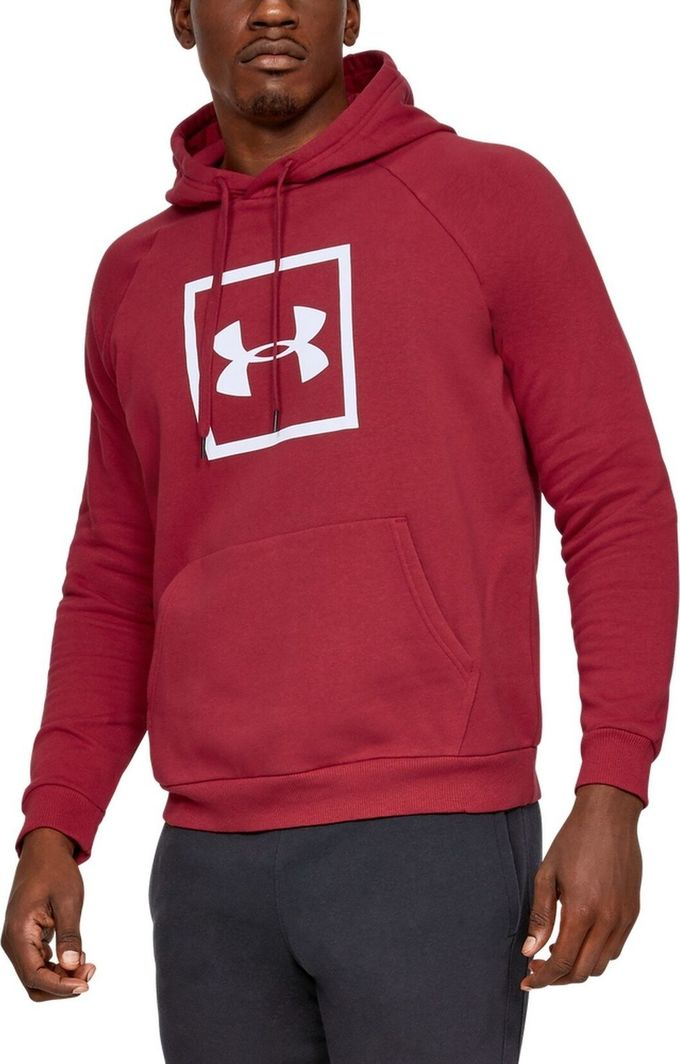 Bluza męska kangurka z kapturem szara Under Armour Roz.XL