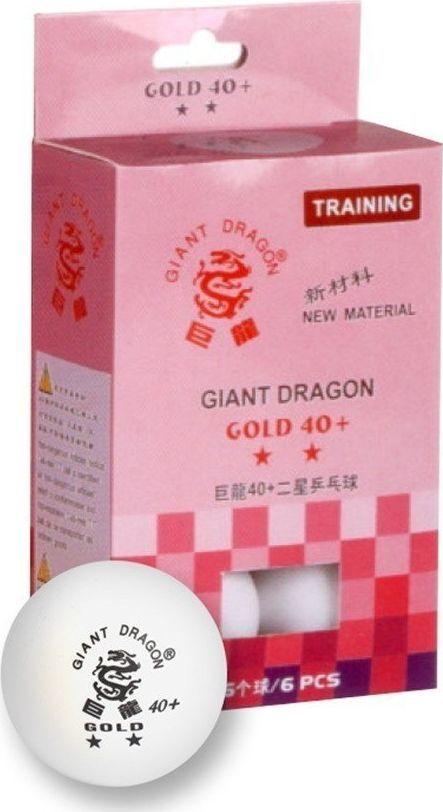 Giant Dragon Piłeczki do ping ponga Gold Star** 6 sztuk (8332) 1