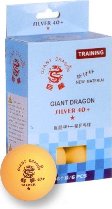Giant Dragon Piłeczki do ping ponga Silver Star* 6 sztuk (8341) 1