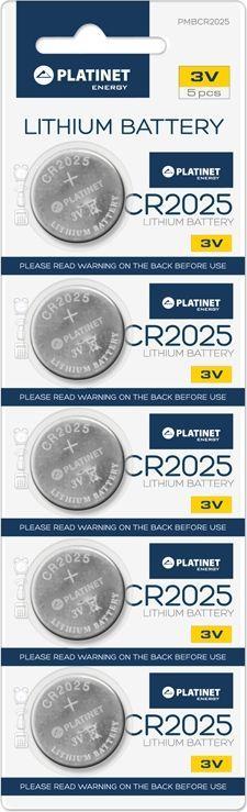 Platinet Bateria CR2025 5szt. 1