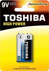 Toshiba Bateria High Power 9V Block 1szt. 1