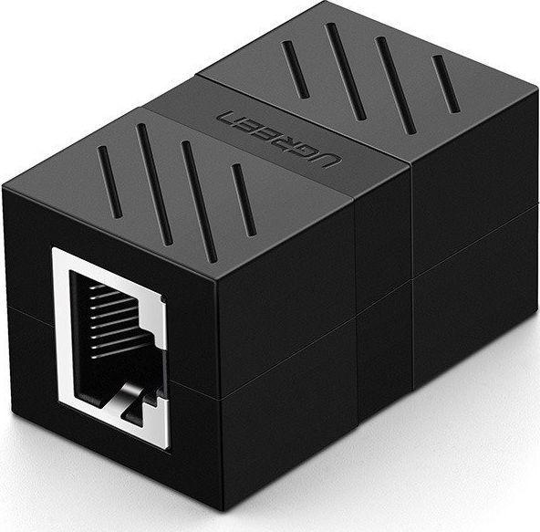 Ugreen Złączka, przedłużka sieciowa RJ45 UGREEN Ethernet, 8P/8C, Cat.7, UTP (czarna) 1