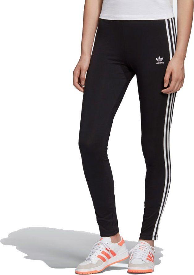 Adidas Legginsy damskie 3-Stripes Tight czarne r. 32 (FM3287) 1