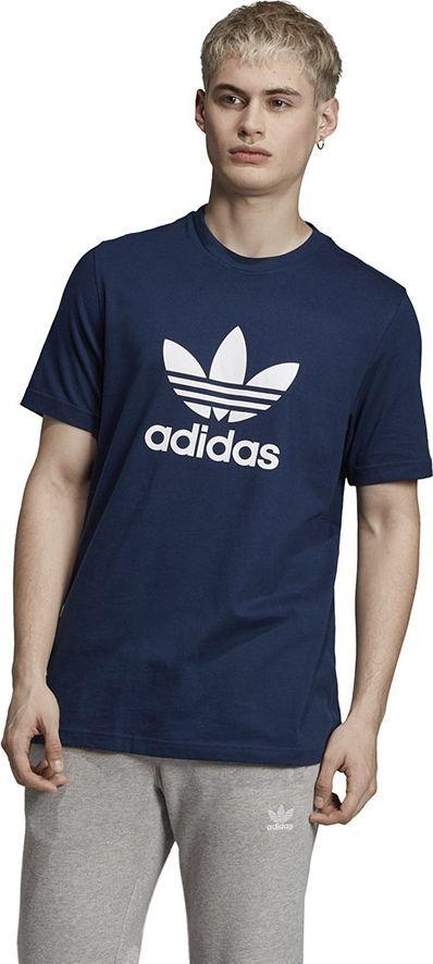 Adidas Koszulka męska Originals Trefoil granatowa r. XXL (ED4715) ID produktu: 6469950