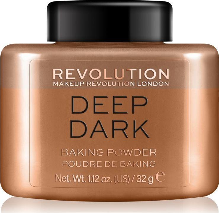 Makeup Revolution Loose Baking Powder Deep Dark 1