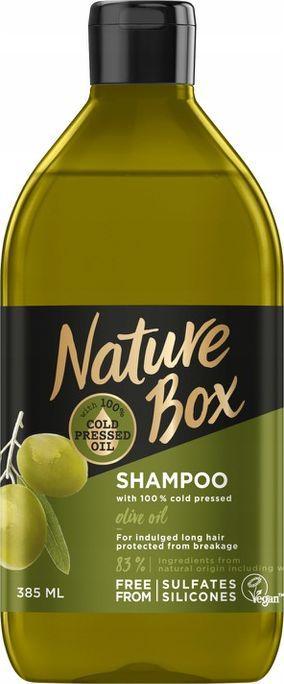 Nature Box Szampon z olejem z oliwek 385ml 1