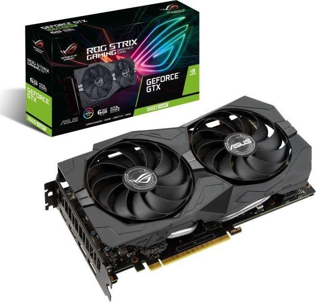 Karta graficzna Asus ROG Strix GeForce GTX 1660 SUPER Gaming 6GB GDDR6 (90YV0DW2-M0NA00) 1