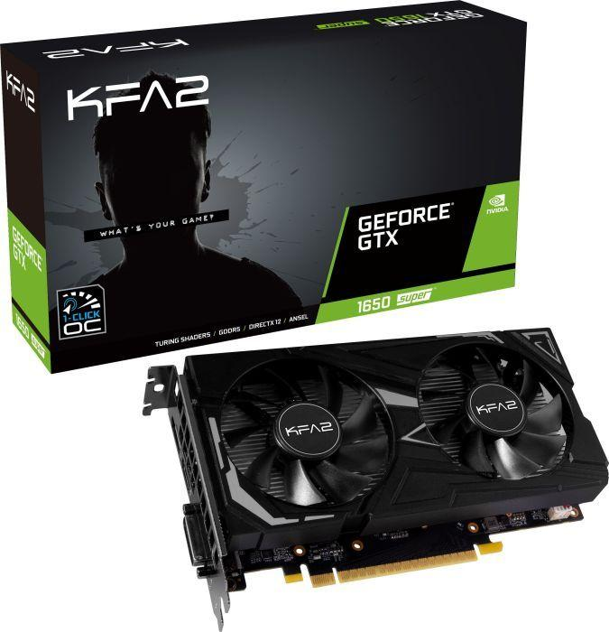 Karta graficzna KFA2 GeForce GTX 1650 SUPER EX 4GB GDDR6 (65SQL8DS61EK) 1