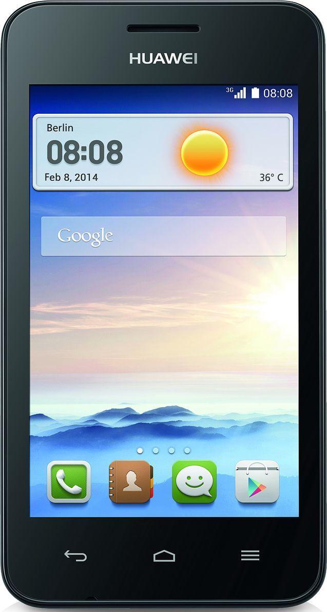 Smartfon Huawei 4 GB Czarny  (Y330 BLACK) 1