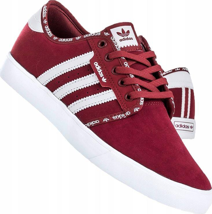 Adidas Buty m?skie Seeley czerwone r. 42 23 (BB8460) ID produktu: 6474524