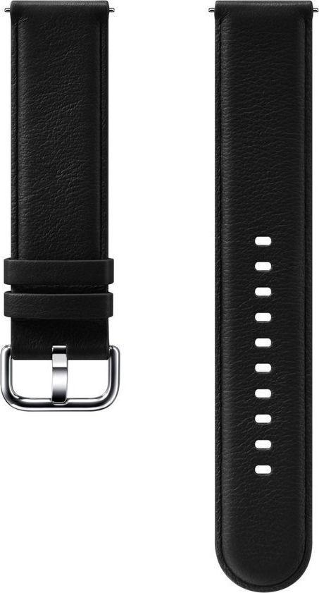 Samsung Pasek do Galaxy Watch Active/Active 2 20mm Czarny (ET-SLR82MBEGWW) 1