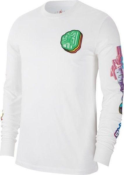 Nike Racer Long Sleeve. Koszulka z długim rękawem biała