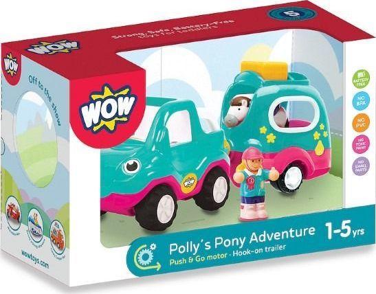 Smily Play Polly auto z przyczepą dla kucyka 1