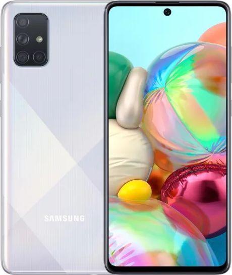 Smartfon Samsung Galaxy A71 128GB Dual SIM Srebrny (SM-A715FZS) 1