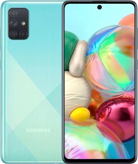 Smartfon Samsung Galaxy A71 128GB Dual SIM Niebieski (SM-A715FZB) 1