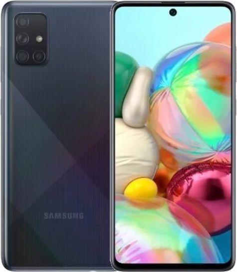 Smartfon Samsung Galaxy A71 128GB Dual SIM Czarny (SM-A715FZK) 1