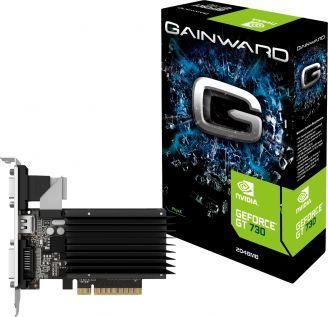 Karta graficzna Gainward GeForce GT 730 SilentFX 2GB DDR3 (426018336-3224) 1