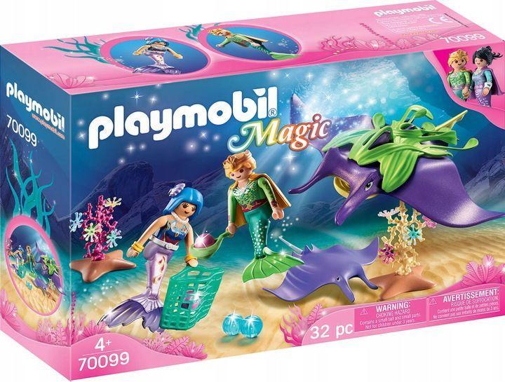 Playmobil Poszukiwacze pereł z płaszczkami (70099) 1