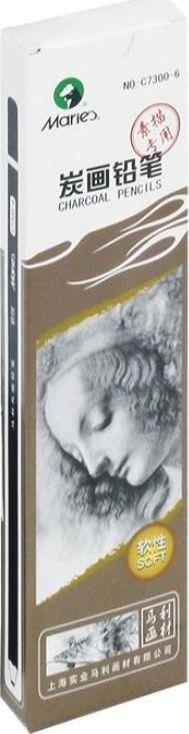 Maries Węgiel w drewnie C7300-6 12szt MARIES 1