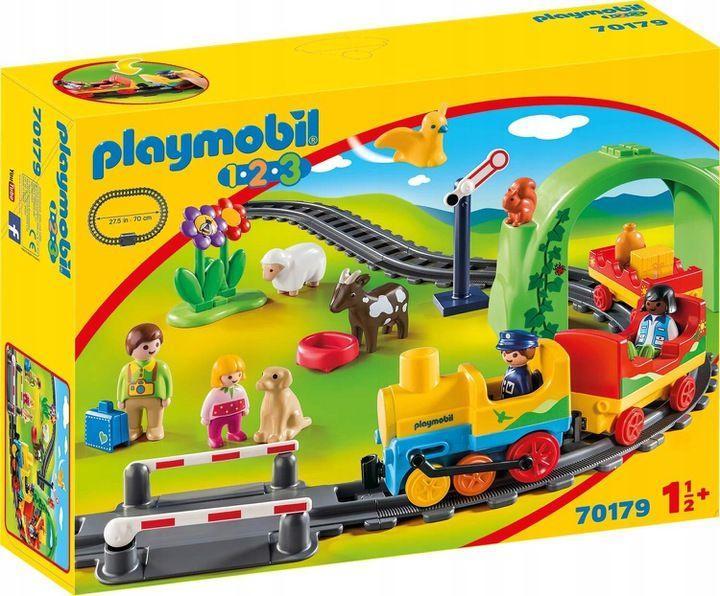 Playmobil Moja pierwsza kolejka (70179) 1