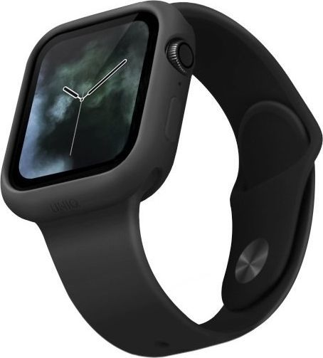 Uniq UNIQ etui Lino Apple Watch Series 5/4 40MM czarny/ash black 1