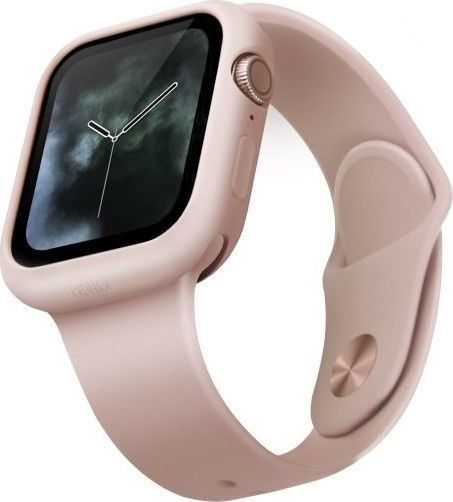 Uniq UNIQ etui Lino Apple Watch Series 5/4 40MM różowy/blush pink 1